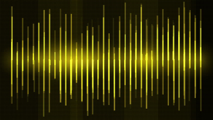 4k Audio equalizer,music rhythm Volume,speakers waves spectrum,heart-rate,vj background. 0684_4k