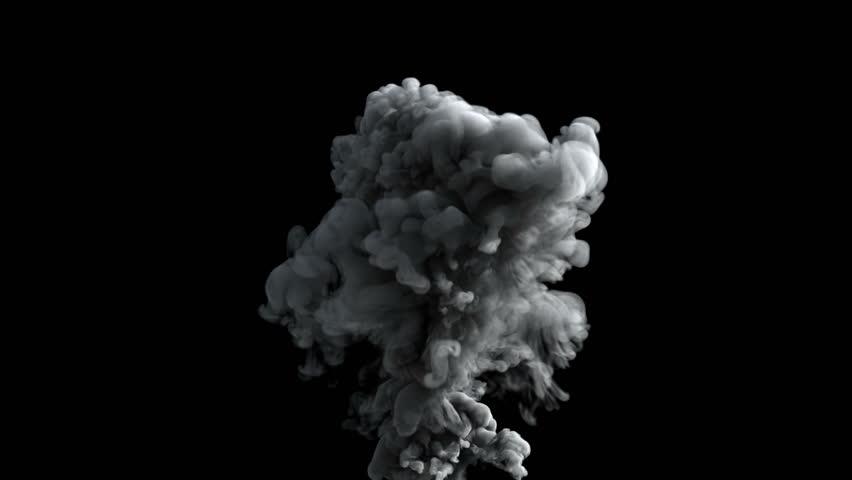 stock video of 4k smoke on black background in 9761135