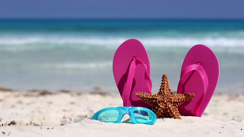 Image result for photos of beach flip flop
