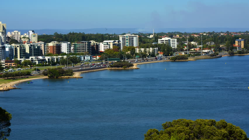 Perth, Wa, from King's Park Stock Footage Video (100% Royalty-free) 9857105  | Shutterstock