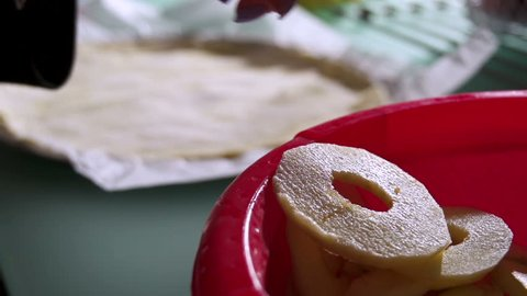 Apple pie cooking in slow motion. Find similar in our portfolio.