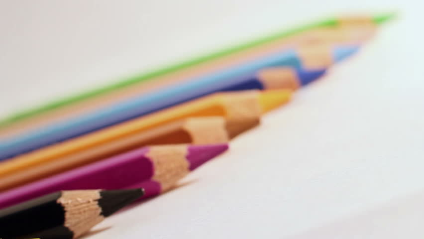 The Colored Pencils 5 | Shutterstock HD Video #9959435