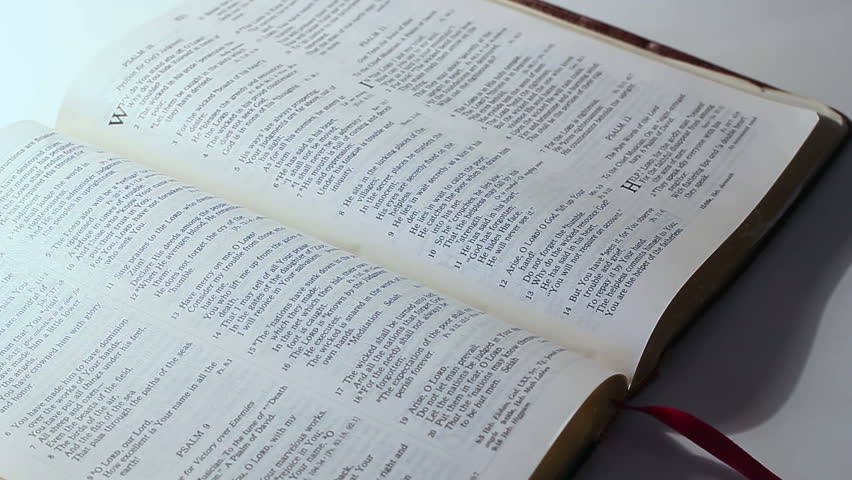 Bible Study Background Stock Footage Video 9973700 ...
