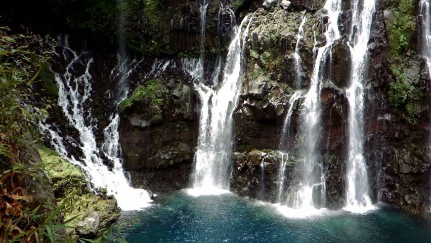 Waterfall, Ile De La Reunion #9994715
